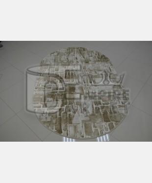 Акриловый ковер 120921 2.00х2.90 овал - imperiakovrov.com