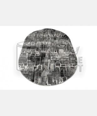 Акриловый ковер 120922 1.60x2.30 овал - imperiakovrov.com