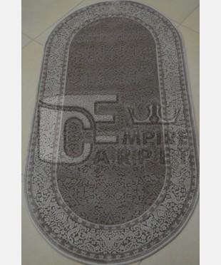 Акриловый ковер 110989 0.80х1.50 овал - imperiakovrov.com