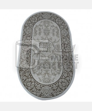 Акриловый ковер 110983 0.60х1.00 овал - imperiakovrov.com