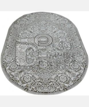 Акриловый ковер 110991 1.20х1.80 овал - imperiakovrov.com