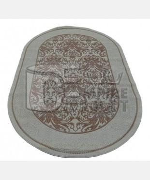 Акриловый ковер 104828 0.80x1.50 овал - imperiakovrov.com
