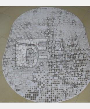 Акриловый ковер 127781 1.60x2.35 овал - imperiakovrov.com