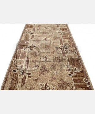 Синтетическая ковровая дорожка 107751 0.80x1.51 - imperiakovrov.com