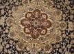 Иранский ковер Diba Carpet Esfahan D.Brown - высокое качество по лучшей цене в Украине - изображение 3
