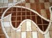 Акриловый ковер Azora 9817A d.brown - высокое качество по лучшей цене в Украине - изображение 2