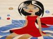 Детский ковер Daisy Fulya 8D18a - высокое качество по лучшей цене в Украине - изображение 3