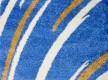 Высоковорсная ковровая дорожка First Shaggy 1198 , BLUE - высокое качество по лучшей цене в Украине - изображение 2