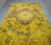 Иранский ковер Diba Carpet 1224 Yellow - высокое качество по лучшей цене в Украине.
