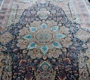 Иранский ковер Diba Carpet Ganjine Blue - высокое качество по лучшей цене в Украине.