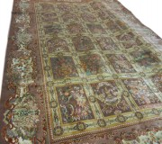 Иранский ковер Diba Carpet Mandegar Bleak - высокое качество по лучшей цене в Украине.