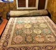 Иранский ковер Diba Carpet Pasha brown - высокое качество по лучшей цене в Украине.