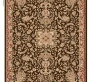 Иранский ковер Diba Carpet Simorgh Dark Brown - высокое качество по лучшей цене в Украине.