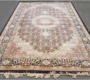 Иранский ковер Diba Carpet Mahi d.brown - высокое качество по лучшей цене в Украине.