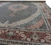 Иранский ковер Diba Carpet Mahi-esfahan d.brown - высокое качество по лучшей цене в Украине.