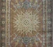 Иранский ковер Diba Carpet Setareh Brown - высокое качество по лучшей цене в Украине.