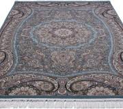 Персидский ковер Kashan 607-LBL blue - высокое качество по лучшей цене в Украине.