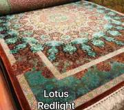 Иранский ковер Diba Carpet Lotus redlight - высокое качество по лучшей цене в Украине.