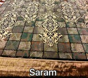 Иранский ковер Diba Carpet Saram brown-cream - высокое качество по лучшей цене в Украине.
