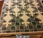 Иранский ковер Diba Carpet Saram cream-brown - высокое качество по лучшей цене в Украине.