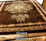 Иранский ковер Diba Carpet Violet brown - высокое качество по лучшей цене в Украине.