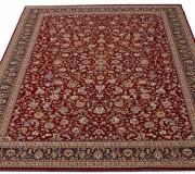 Высокоплотный ковер Kasbah 12311-474 red - высокое качество по лучшей цене в Украине.