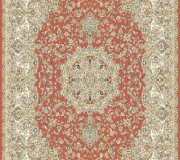Иранский ковер Marshad Carpet 3017 Red - высокое качество по лучшей цене в Украине.