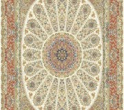 Иранский ковер Marshad Carpet 3026 Cream - высокое качество по лучшей цене в Украине.