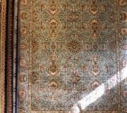 Иранский ковер Marshad Carpet 3042 Blue - высокое качество по лучшей цене в Украине.