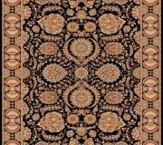 Иранский ковер Marshad Carpet 3043 Black - высокое качество по лучшей цене в Украине.