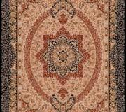 Иранский ковер Marshad Carpet 3053 Pink Black - высокое качество по лучшей цене в Украине.