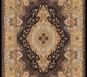 Иранский ковер Marshad Carpet 3054 Black - высокое качество по лучшей цене в Украине.