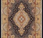 Иранский ковер Marshad Carpet 3054 Black Cream - высокое качество по лучшей цене в Украине.