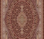 Иранский ковер Marshad Carpet 3065 Brown - высокое качество по лучшей цене в Украине.