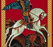 Ковер Икона 2048 Георгий Победоносец - высокое качество по лучшей цене в Украине.