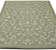 Безворсовый ковер Cottage 2098 olive-green-wool - высокое качество по лучшей цене в Украине.