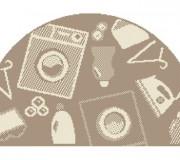 Безворсовый ковер Flex 19617/111 - высокое качество по лучшей цене в Украине.
