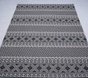 Безворсовый ковер Jersey Home 6726 wool-black-E518 - высокое качество по лучшей цене в Украине.