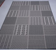 Безворсовый ковер Jersey Home 6769 wool-black-E518 - высокое качество по лучшей цене в Украине.