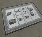 Безворсовый ковер Flex 953/08 - высокое качество по лучшей цене в Украине.