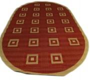 Безворсовый ковер Sisal 00012 red-cream - высокое качество по лучшей цене в Украине.