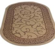 Безворсовый ковер Sisal 00014 cream-gold - высокое качество по лучшей цене в Украине.