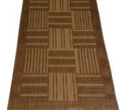 Безворсовый ковер Sisal 00041 gold-beige - высокое качество по лучшей цене в Украине.
