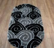 Высоковорсный ковер 3D Polyester B113 BLACK-GREY - высокое качество по лучшей цене в Украине.