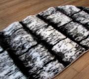 Высоковорсный ковер 3D Polyester B117 CREAM-BLACK - высокое качество по лучшей цене в Украине.
