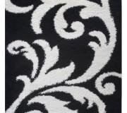 Высоковорсная ковровая дорожка First Shaggy 8432 , BLACK - высокое качество по лучшей цене в Украине.