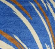 Высоковорсный ковер First Shaggy 1198 , BLUE - высокое качество по лучшей цене в Украине.