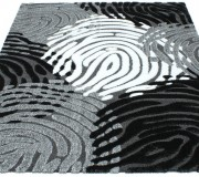 Высоковорсный ковер Luna 2454a p.black-p.grey - высокое качество по лучшей цене в Украине.