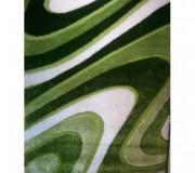 Высоковорсный ковер Polyester (Loop / Porto) Shaggy 1882A GREEN - высокое качество по лучшей цене в Украине.