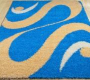Высоковорсный ковер Shaggy 0731 blue - высокое качество по лучшей цене в Украине.